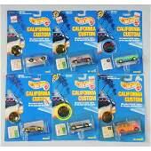 1710 Lot of Mattel Hot Wheels California Custom Cars