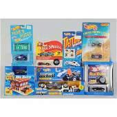 1747: Lot of 17: Miscellaneous Mattel Hot Wheels Cars.