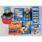 1761: Lot of 17: Miscellaneous Mattel Hot Wheels Cars.
