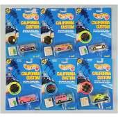 1763 Lot of 19 Mattel Hot Wheels California Customs
