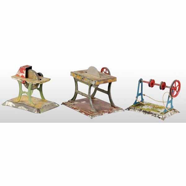 1800: Lot of 3: Steam Toy Accessories.