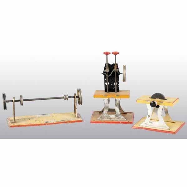 1806: Lot of 3: Weeden Steam Toy Accessories.