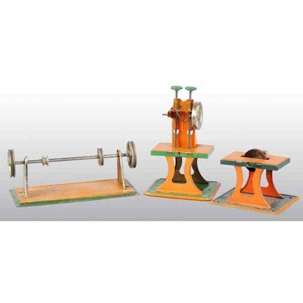 1807: Lot of 3: Weeden Steam Toys.