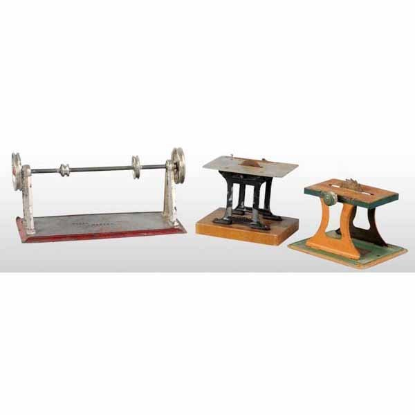 1809: Lot of 3: Steam Toys.