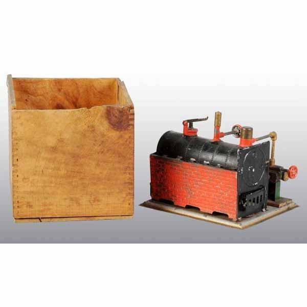 1813: Weeden No. 7 Horizontal Steam Engine.
