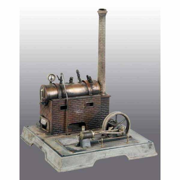 1815: Marklin No. 4097 Horizontal Steam Engine.