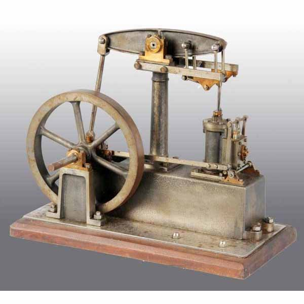 1816: Robust Stuart Walking Beam Model Steam Engine.