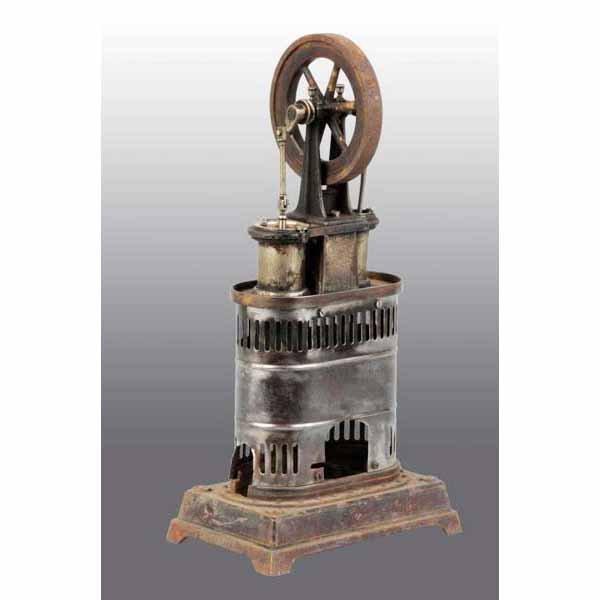 1822: Vertical Carette No. 686 Toy Hot Air Engine.