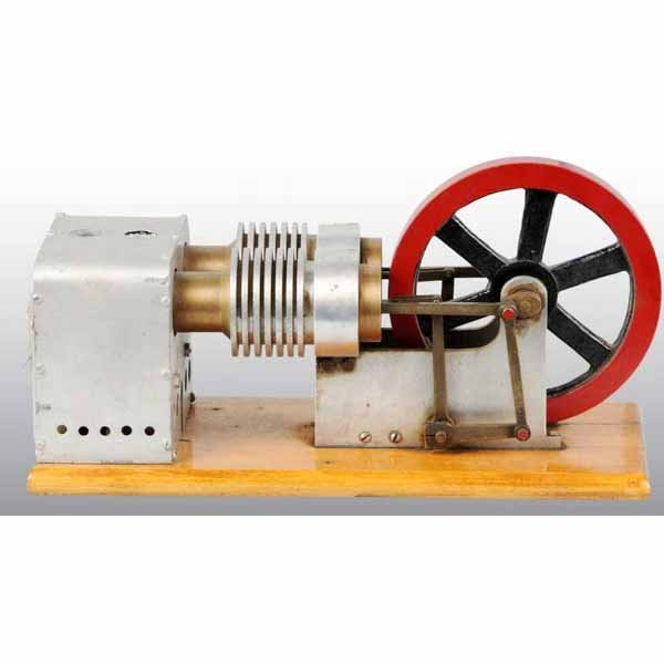 1823: Twin Cylinder Stirling Cycle Hot Air Engine Model