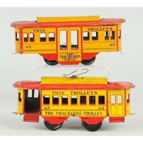 11: Strauss Wind-Up Trolley Set.