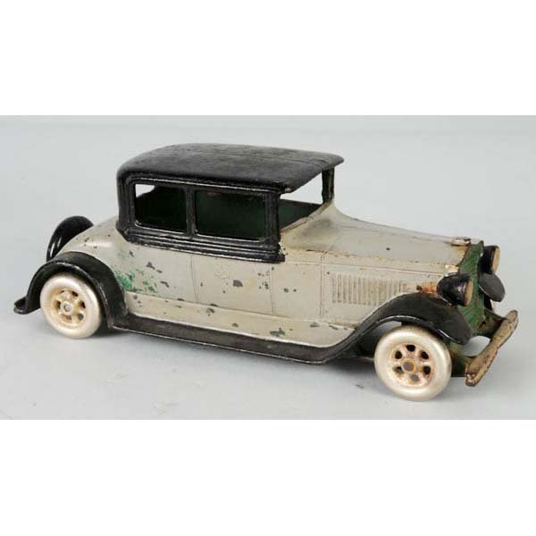 172: Rare Cast Iron Vindex Sedan Automobile Toy.