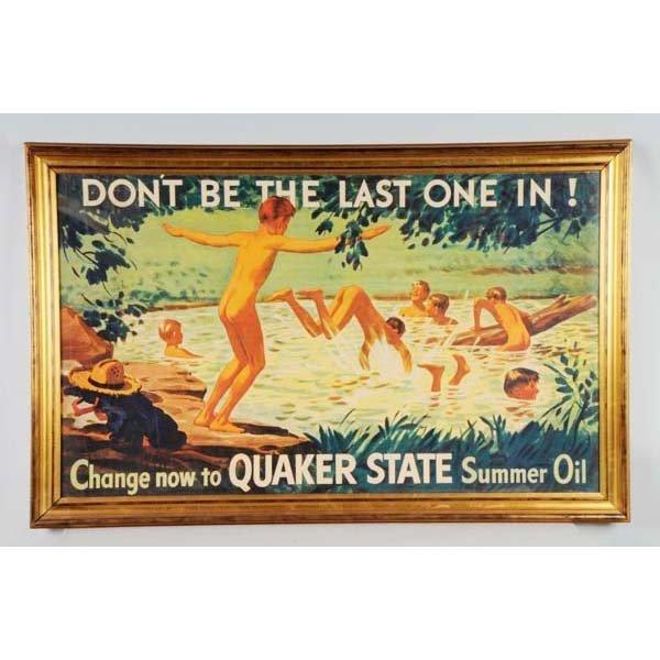 495: Quaker State Poster.