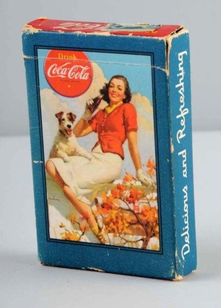 47: Deck of Coca-Cola Playing Cards.