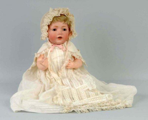167: Kestner Bisque Character Baby Hilda Doll.
