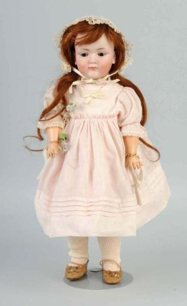 202: German Bisque K & H 549 Character Doll.
