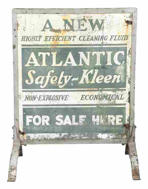 ATLANTIC SAFETY KLEEN FOR SALE HERE TIN SERVICE STATION