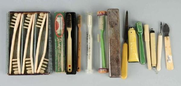 11: Lot of Toothbrushes.