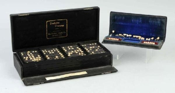 24: Lot of 2: Dental Crown Boxes.