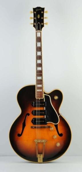 63: Gibson ES5 #4609 Acoustic Electric Guitar.