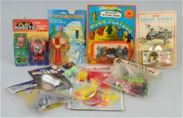461: Lot of 9: Vintage Space Related Toys.