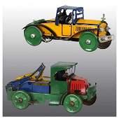 731: Lot of 2: Tin Marx Vehicle Wind-Up Toys.
