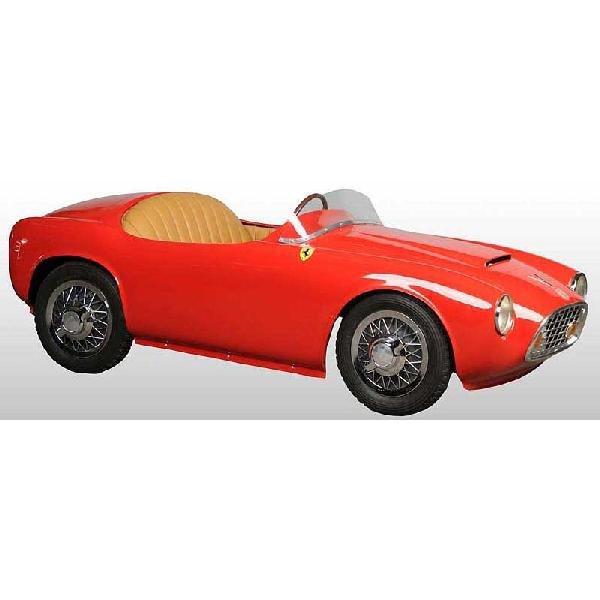 963: Pressed Steel 1956 Ferrari Bimbo Racer Pedal Car.