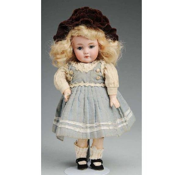 2: Kestner German Bisque Child Doll.