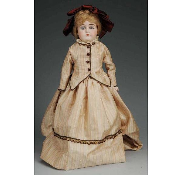 3: Kestner German Bisque Shoulder Head Doll.