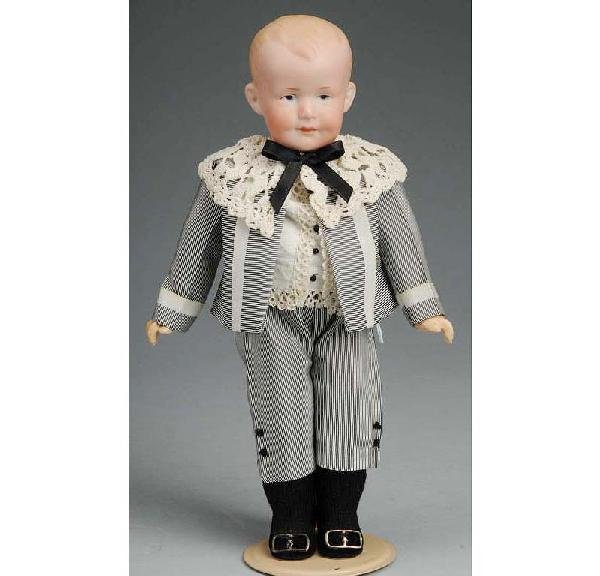 7: Armand Marseille German Bisque Character Doll.