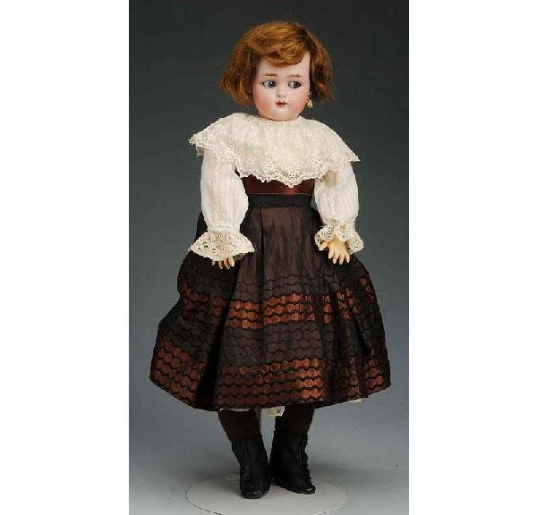 9: Kammer & Reinhardt German Bisque Child Doll.