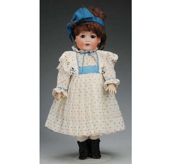 10: Kestner German Bisque Character Doll.