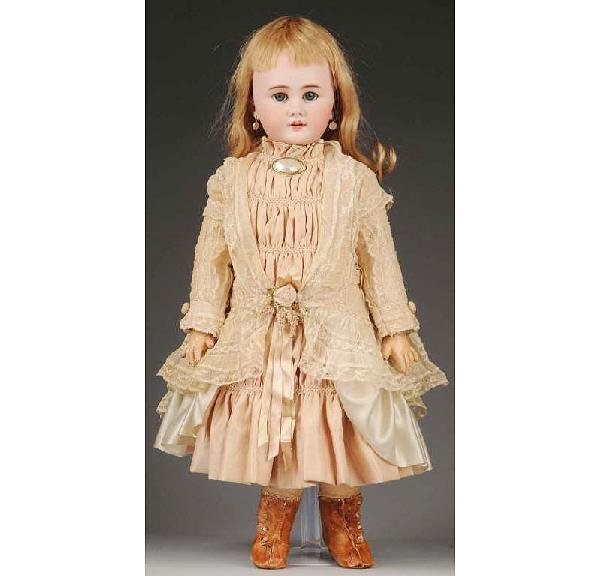 14: French Bisque Child Doll.