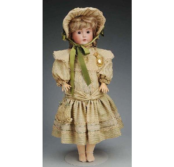 16: J.D. Kestner mold 171 German Bisque Child Doll.