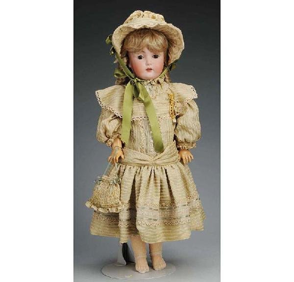 17: J.D. Kestner mold 171 German Bisque Child Doll.