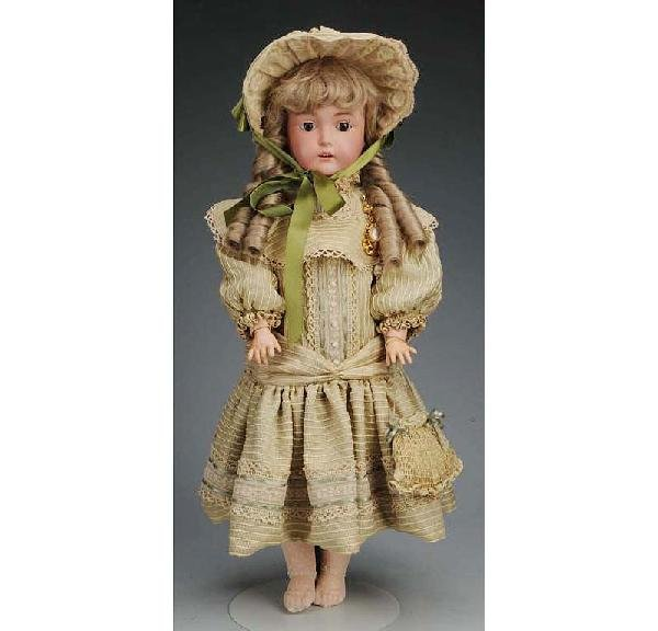18: J.D. Kestner mold 171 German Bisque Child Doll.