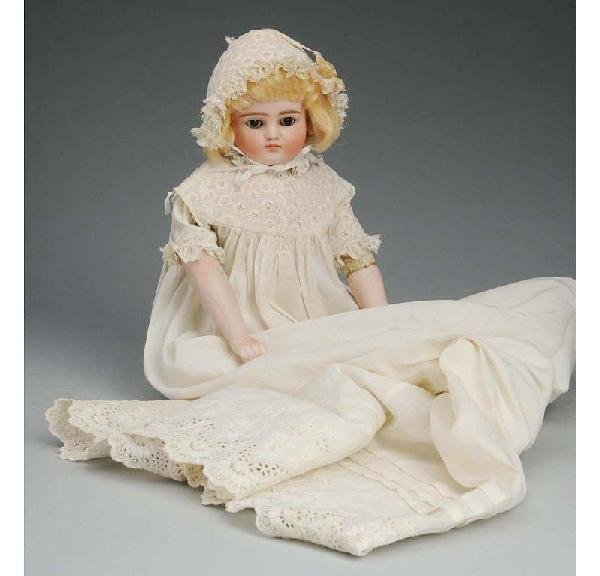 19: Kestner German Bisque Child Doll.