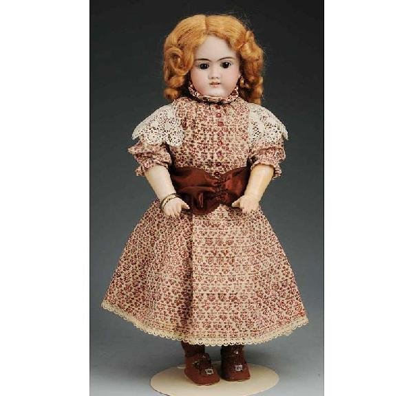 21: H. Handwerck German Bisque Child Doll.