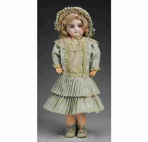 Gebr. Kuhnlenz German Bisque Child Doll.