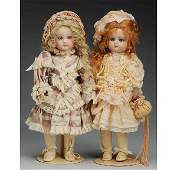 505: Lot of 2 Artist Reproduction French Dolls.