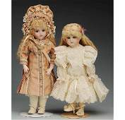 507 Lot of 2 Artist Reproduction French Dolls