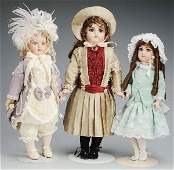 519: Lot of 3: Artist Reproduction Dolls.