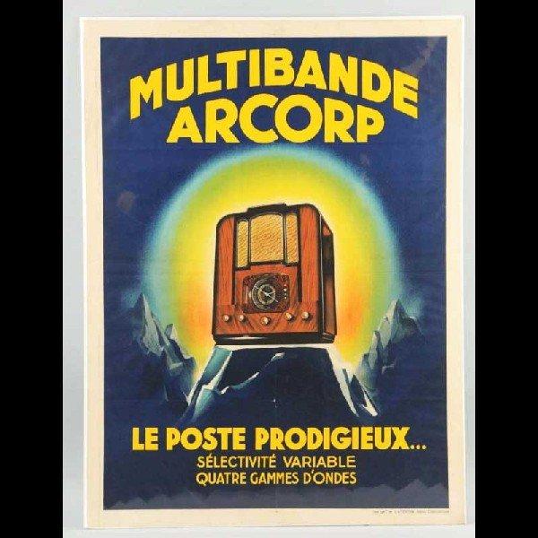 8: Paper Multibande Arcorp Radio Poster.