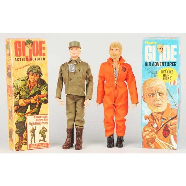 35: Lot of 2: Vintage GI Joe Action Figures.