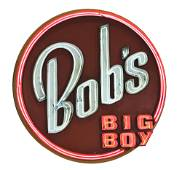 BOB'S BIG BOY NEON SIGN.