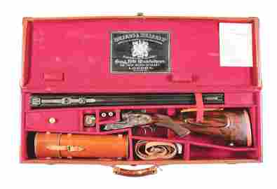 (C) HOLLAND & HOLLAND .375 H&H ROYAL DELUXE CASED