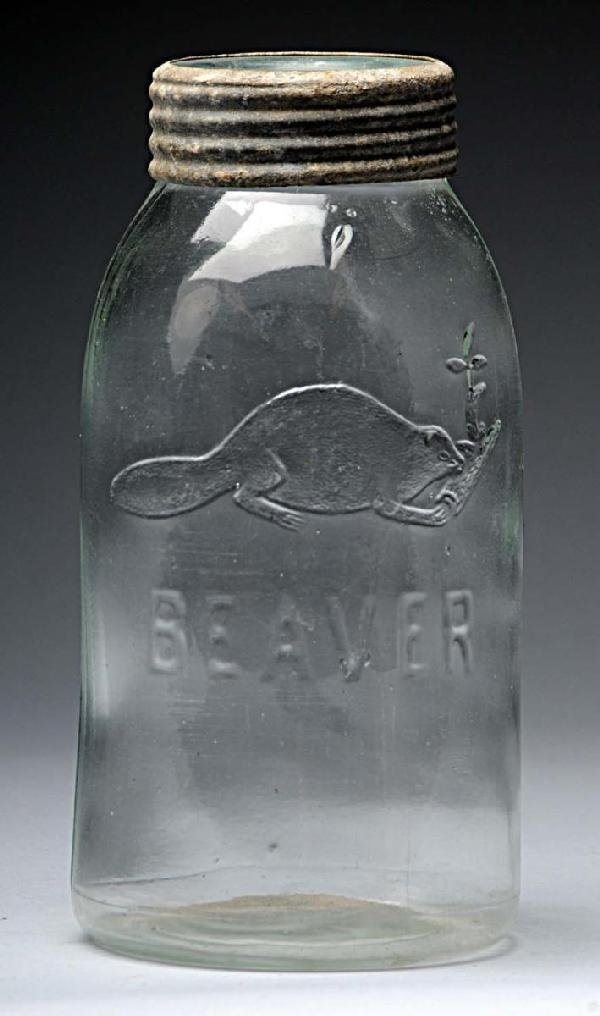 3: Beaver Canning Jar.
