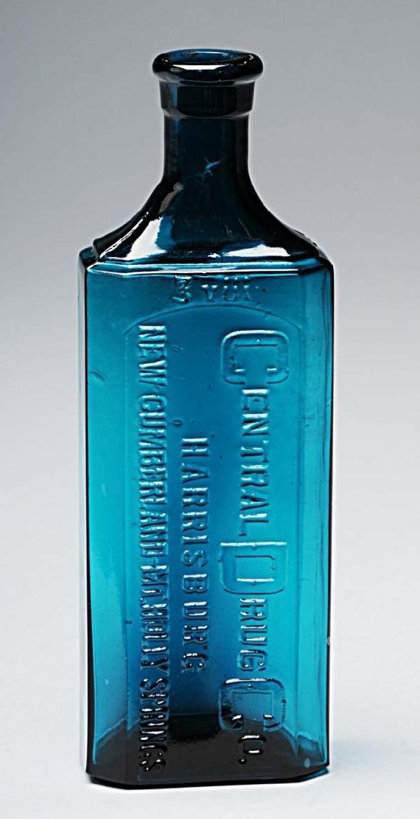 12: Central Drug Company Bottle.