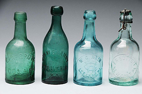 15: Lot of 4: Early Brewery Bottles.