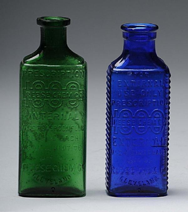 17: Lot of 2: Medical Bottles.