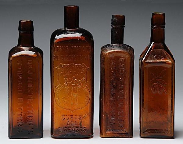 18: Lot of 4: Bottles.